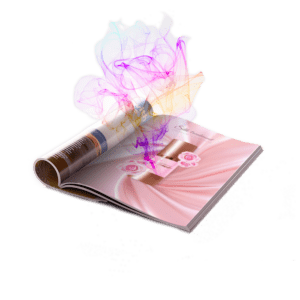 etykiety zapachowe aromatyzowane